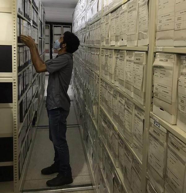 Seger busca imóvel para o projeto de criação do Arquivo Central do Estado