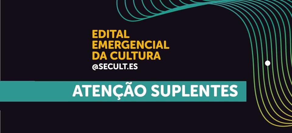 Secult convoca todos os suplentes no Edital Emergencial da Cultura