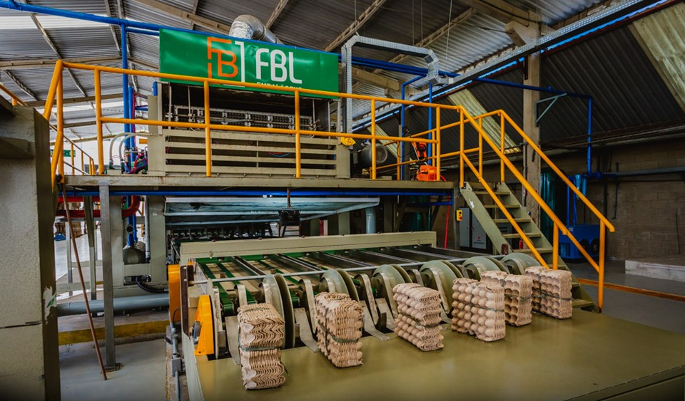 Fábrica capixaba de embalagens de ovos fortalece atuação na Serra
