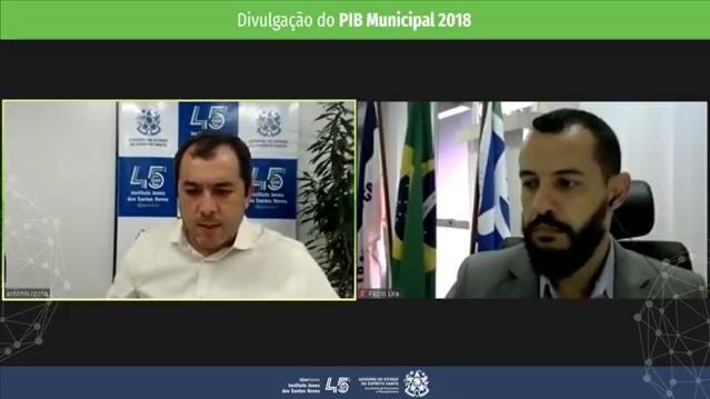 IJSN apresenta os números oficiais das economias dos municípios capixabas em 2018