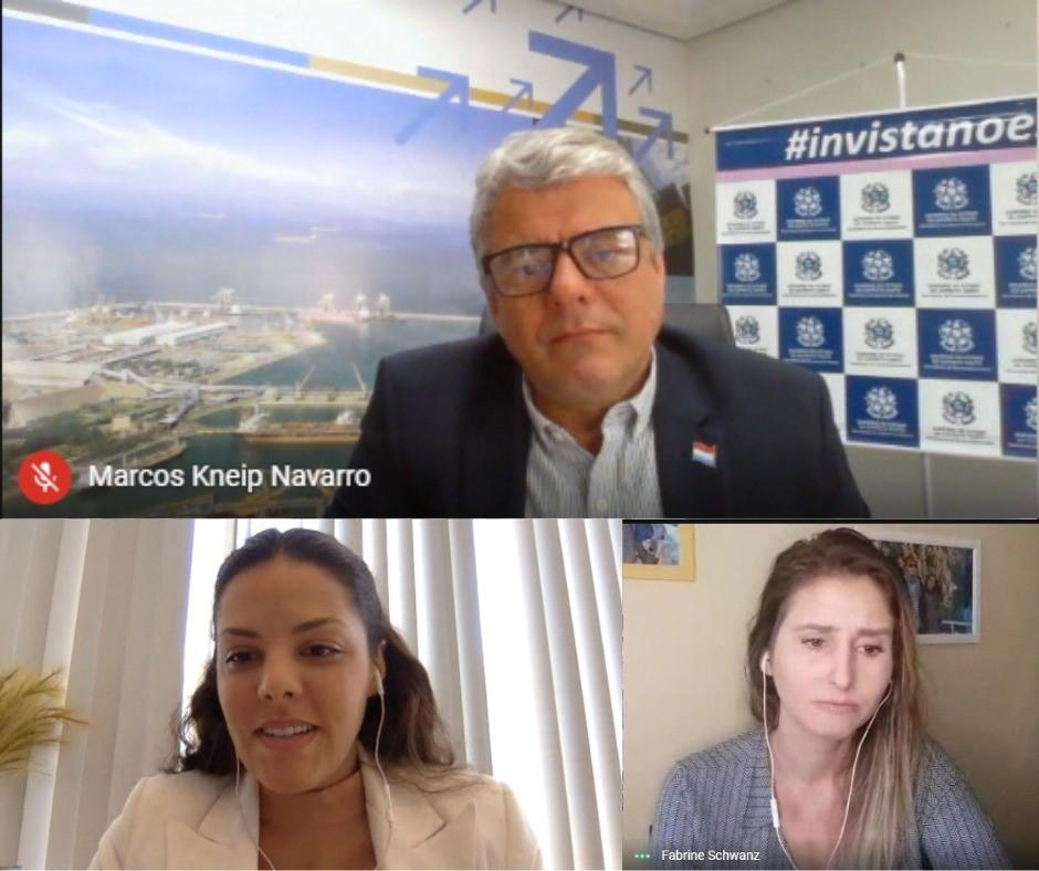 Sedes discute parcerias econômicas em videoconferência