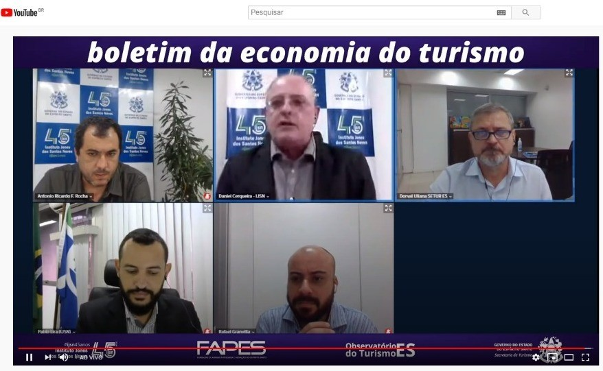 Setur e Instituto Jones apresentam boletim da economia do turismo