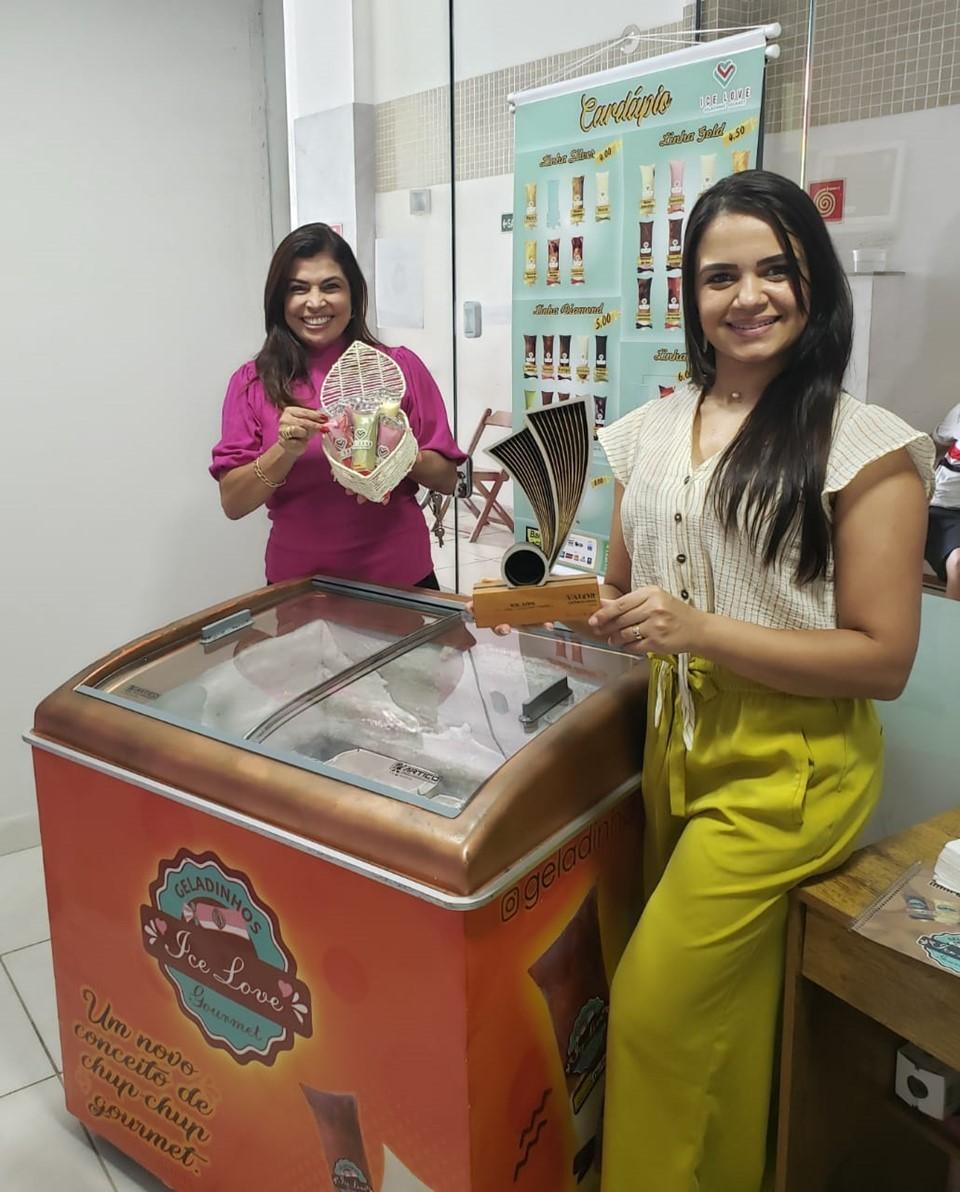 Empreendedora de Vila Velha recebe visita da Aderes
