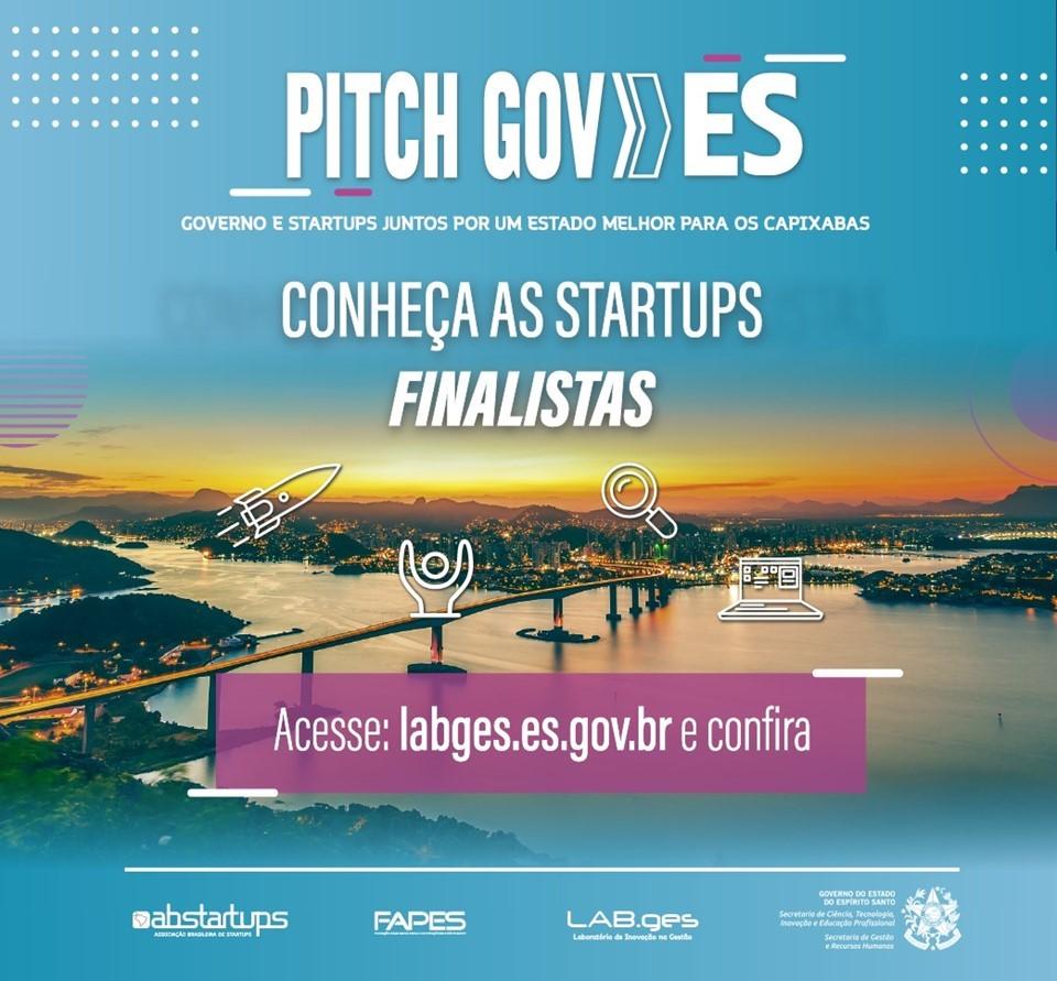 Governo do Estado divulga 45 propostas de startups selecionadas para a Etapa II do Pitch Gov.ES