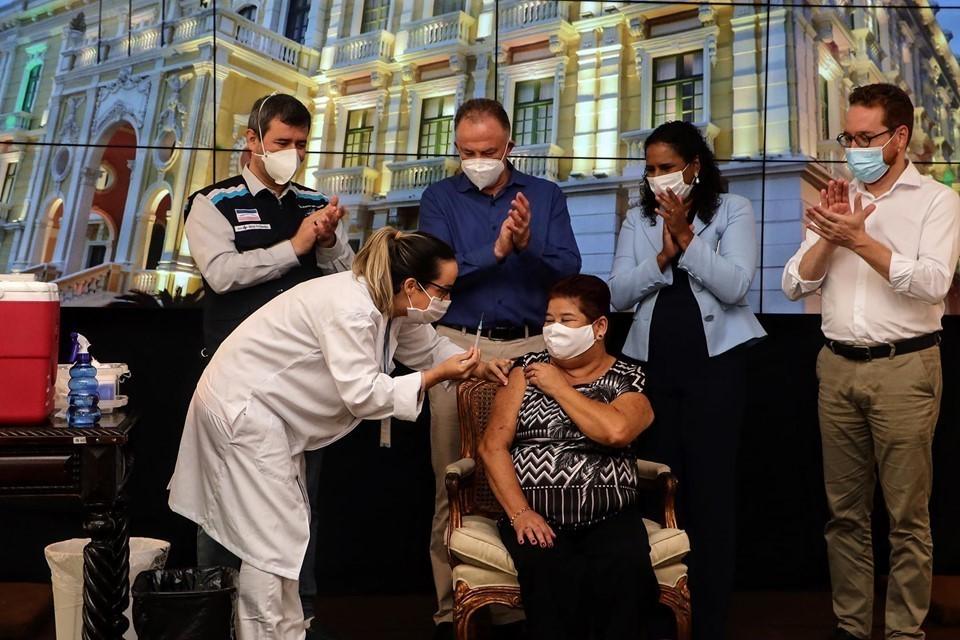 Secont vai acompanhar vacinação dos profissionais da educação no Estado contra Covid-19