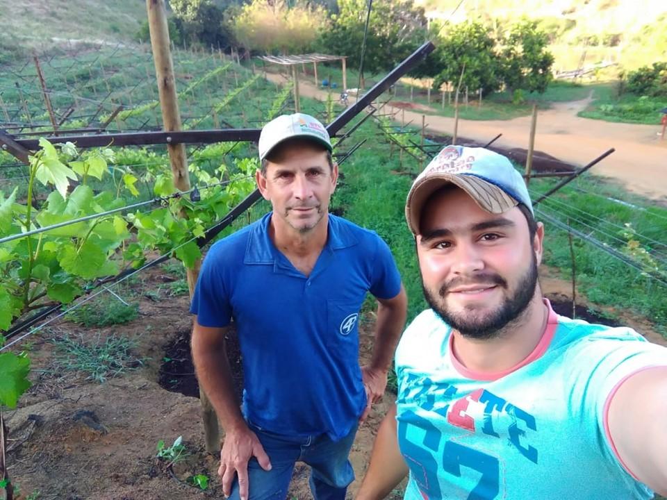 Diversificação com cultura da uva aumenta renda de famílias em Governador Lindenberg
