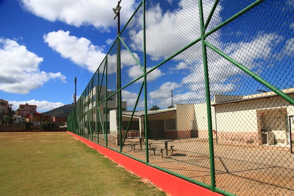 Sesport conclui obras em campos de futebol de Afonso Cláudio e Governador Lindenberg