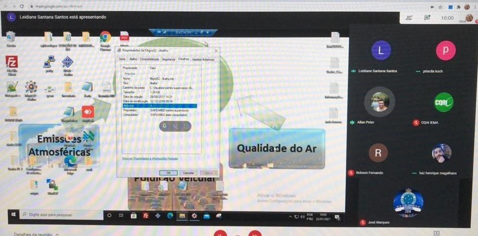 Iema orienta Estado de Minas Gerais sobre Gestão da Qualidade do Ar