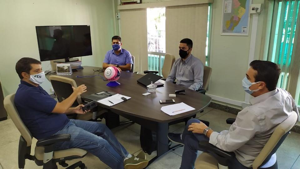 Sesport discute protocolos sanitários para retomada gradual das atividades esportivas