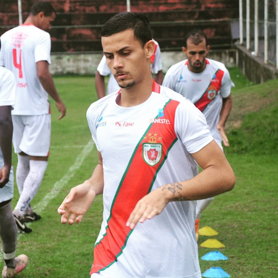 Com foco na classificação na Série D, Matheus Firmino vibra com seu retorno ao time do Real Noroeste