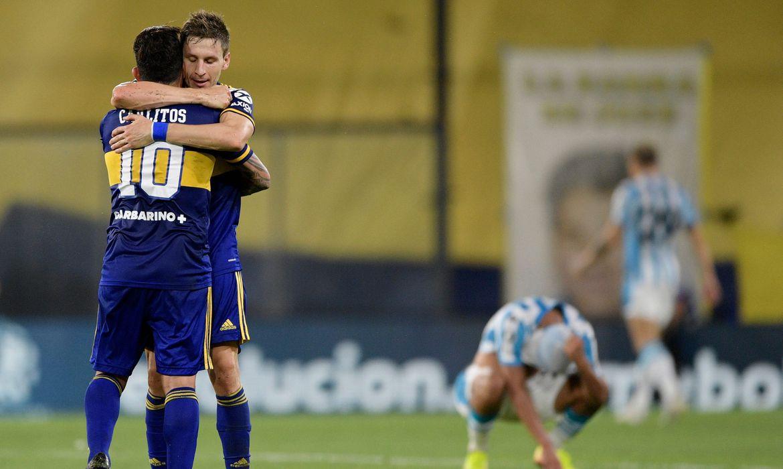 Boca vence Racing e enfrenta Santos na semifinal da Libertadores