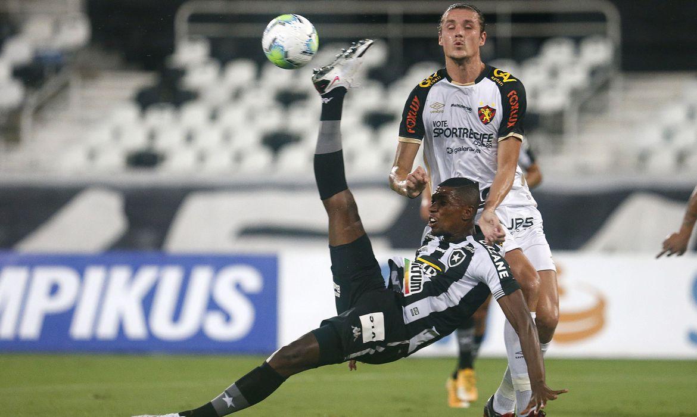 Botafogo perde e cai no Brasileiro
