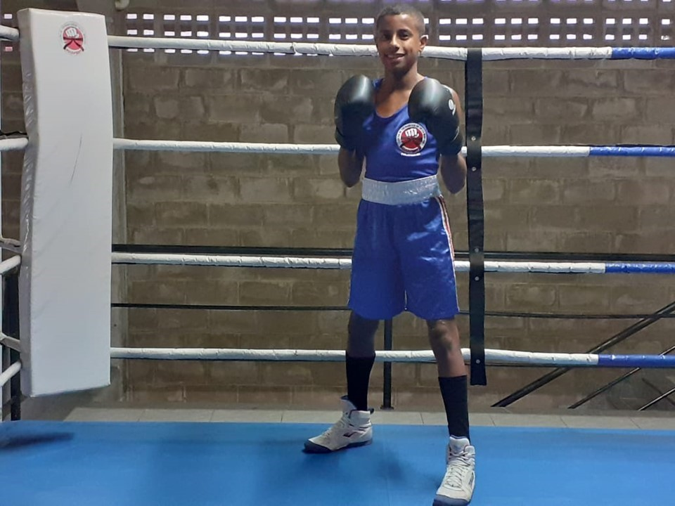 Contemplado pelo Bolsa Atleta, Genivan Porto participa de torneio virtual Latino-Americano de boxe