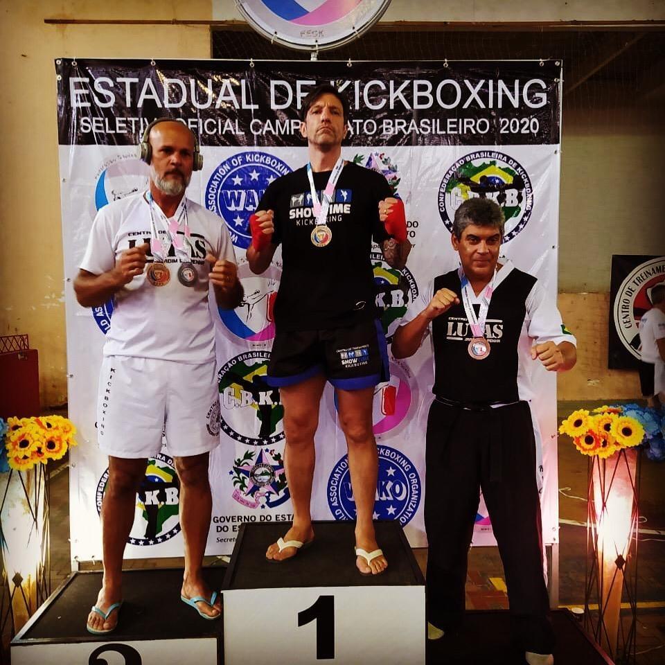 Inspetor penitenciário conquista título estadual de Kickboxing