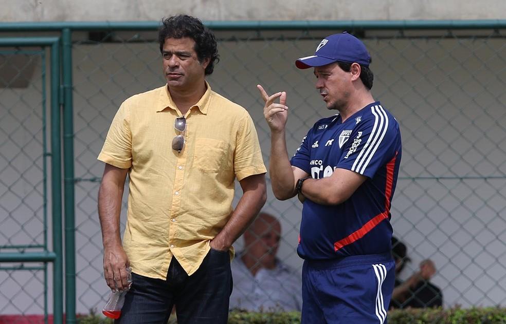 Reunião da diretoria do São Paulo deve concretizar saídas de Fernando Diniz e Raí nesta segunda