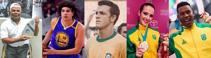 Sesport divulga nomes dos homenageados na segunda edição da Calçada da Fama
