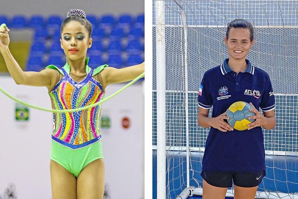 Duas jovens atletas capixabas ganham chance de brilhar ainda mais em nível nacional