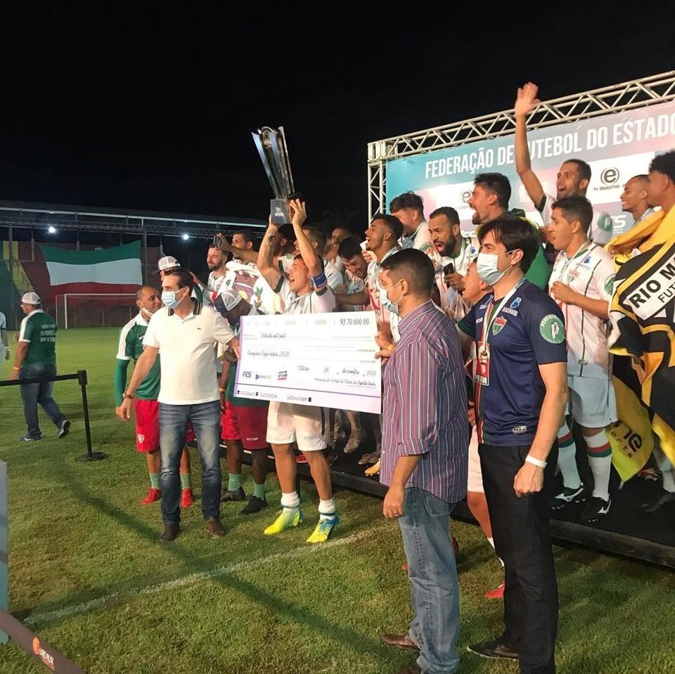 Rio Branco de Venda Nova vence Rio Branco AC e conquista o título do Capixabão 2020