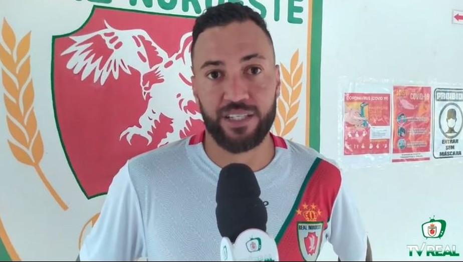 Marcel vibra com hat-trick e vitória que deixa o Real Noroeste confortável para classificação na Série D
