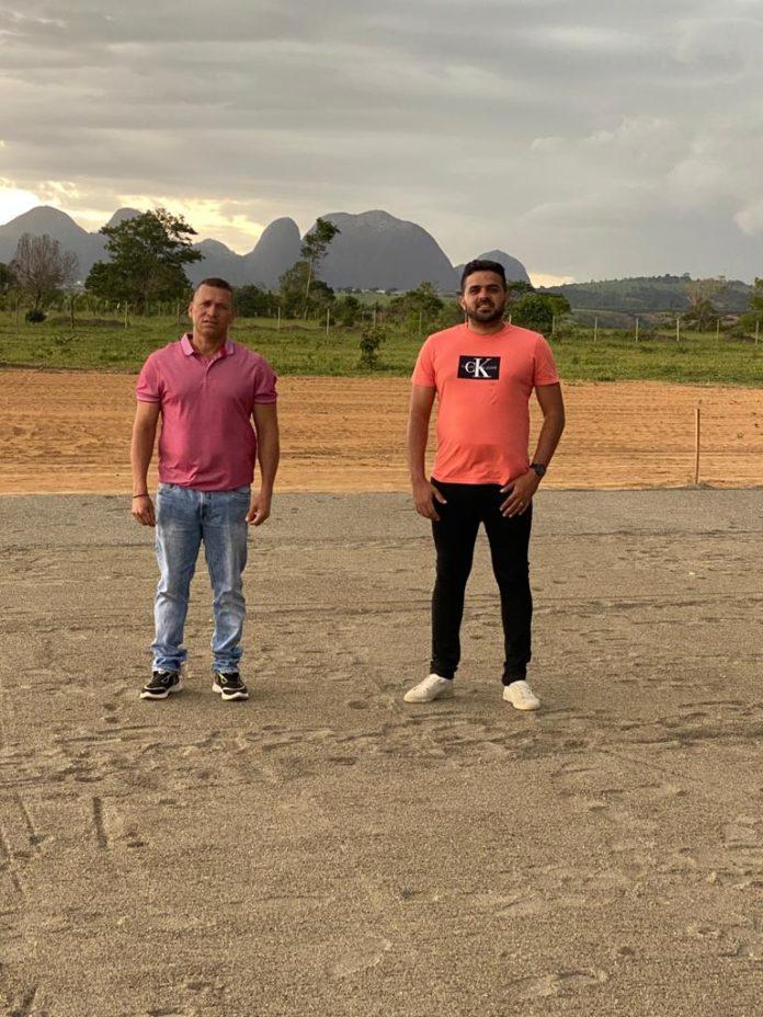 Construção de campo para projeto social do atacante Richarlison está em fase avançada