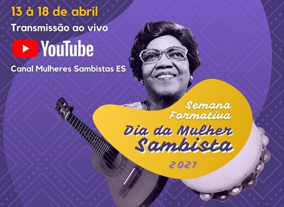 Dia da Mulher Sambista é comemorado com semana formativa sobre o samba