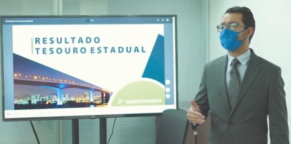 Tesouro Estadual disponibiliza palestras sobre ações para manter o equilíbrio fiscal na pandemia