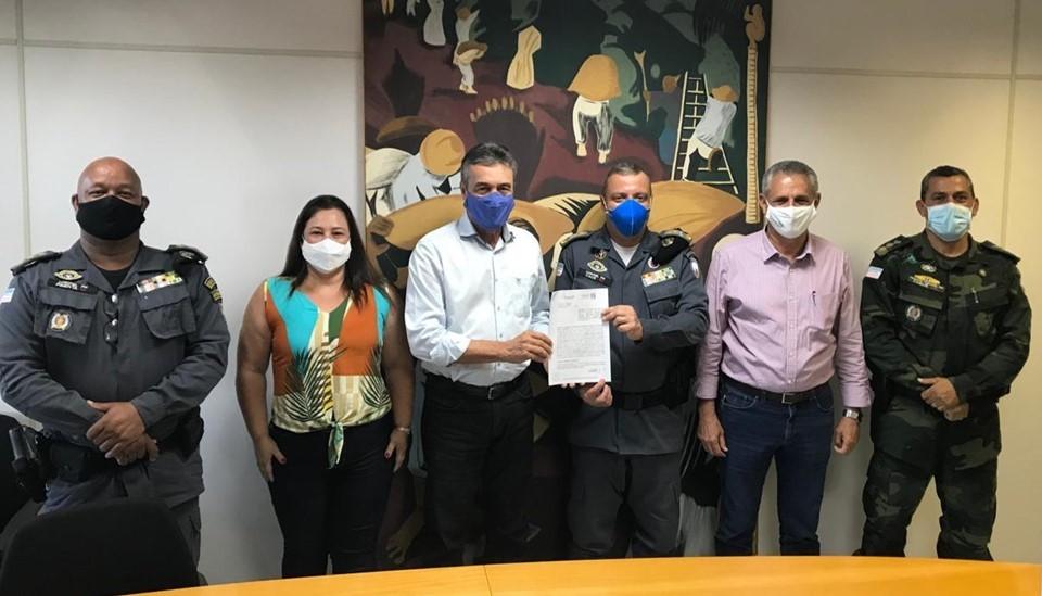 Incaper cede área no Centro de Pesquisa de Domingos Martins à Polícia Militar Ambiental