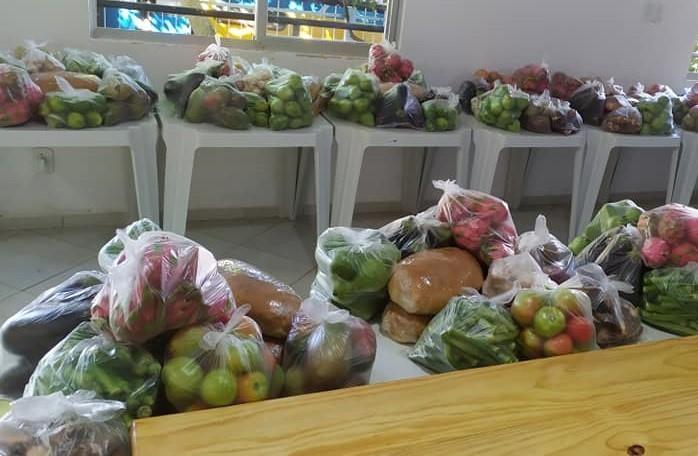 Laranja da Terra recebe pela primeira vez cestas do Programa de Compra Direta de Alimentos