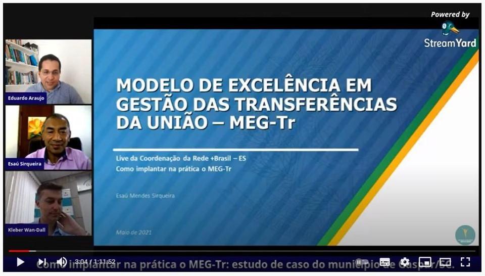 Sefaz organiza webinário sobre Modelo de Excelência em Gestão de Transferências Voluntárias Federais