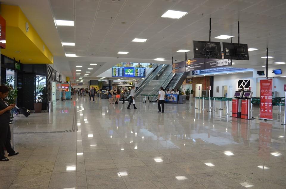 Observatório do Turismo divulga fluxo de passageiros no Aeroporto de Vitória em 2020