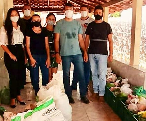 Vila Pavão retoma distribuição de alimentos às famílias carentes