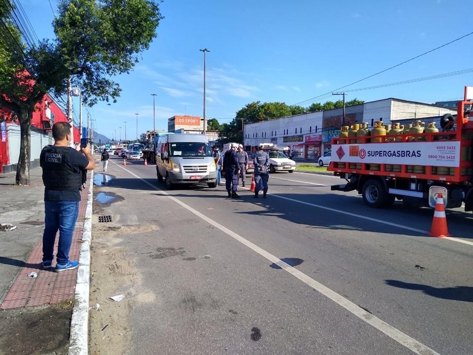 Ceturb-ES intensifica fiscalização de transporte irregular durante quarentena
