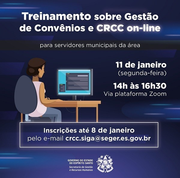Seger capacita servidores municipais da área de Gestão de Convênios