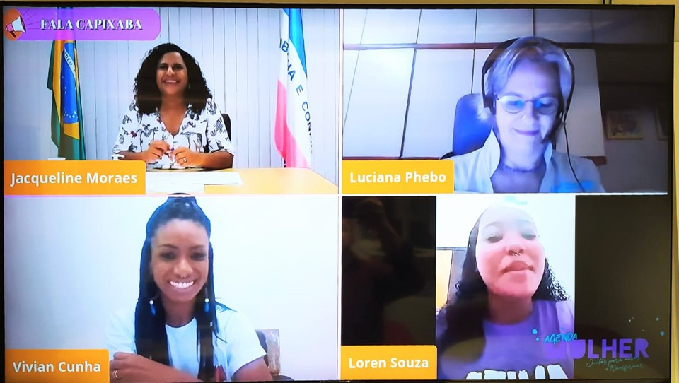 Jacqueline Moraes participa de webinário sobre empoderamento de meninas negras no Estado