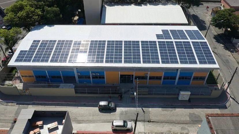 Energia Solar começa a ser instalada em Escolas Estaduais