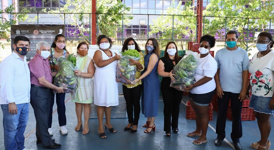 Cestas verdes do Programa AlimentarES serão entregues até quarta-feira (23)