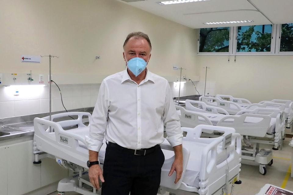 Estado amplia número de leitos de enfermaria em hospitais na Grande Vitória