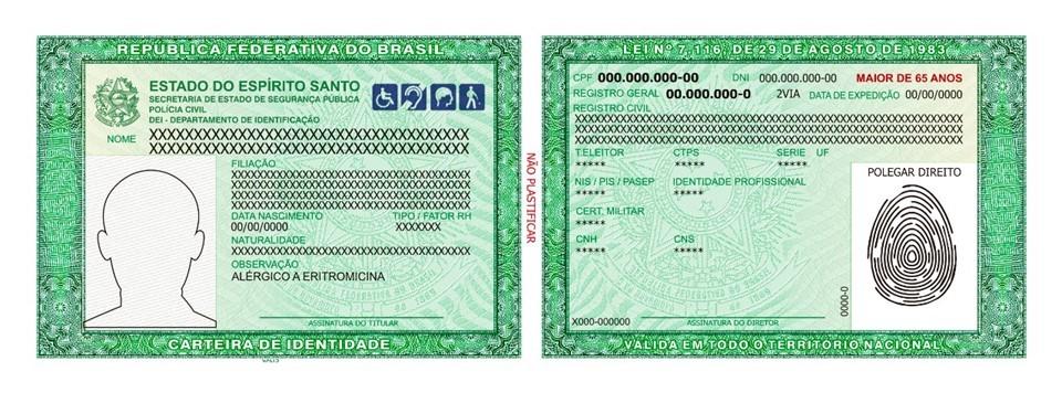 SPTC começa emissão do novo modelo de Carteira de Identidade
