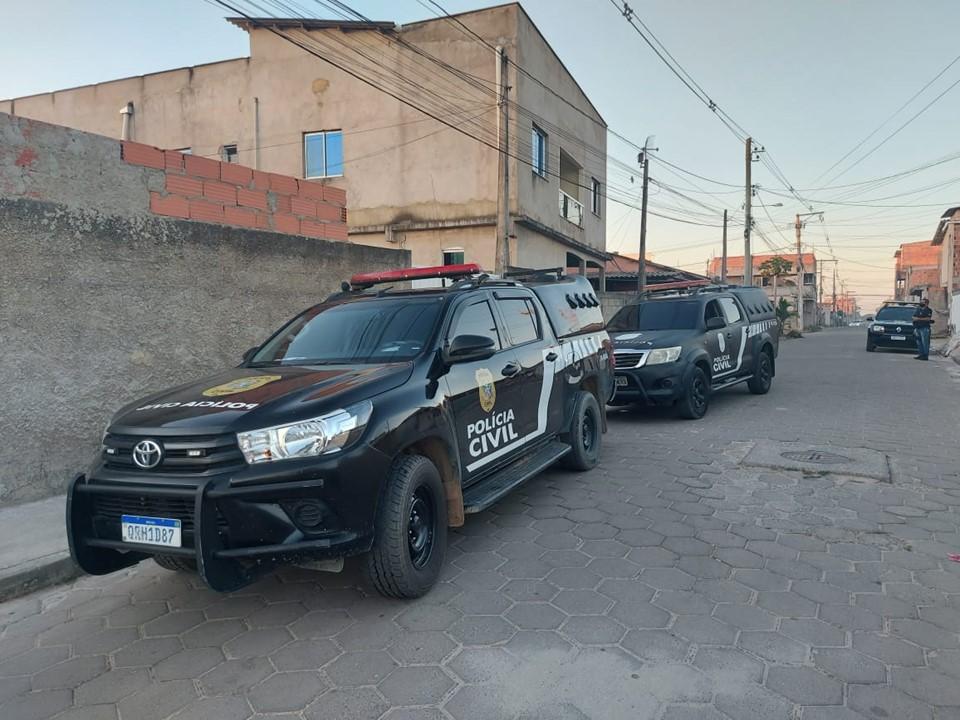Suspeitos são detidos por roubo em estabelecimento comercial em Linhares