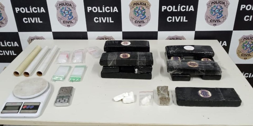 Suspeitos de tráfico de drogas interestadual são detidos em operação da delegacia de Narcóticos com apoio dos Correios