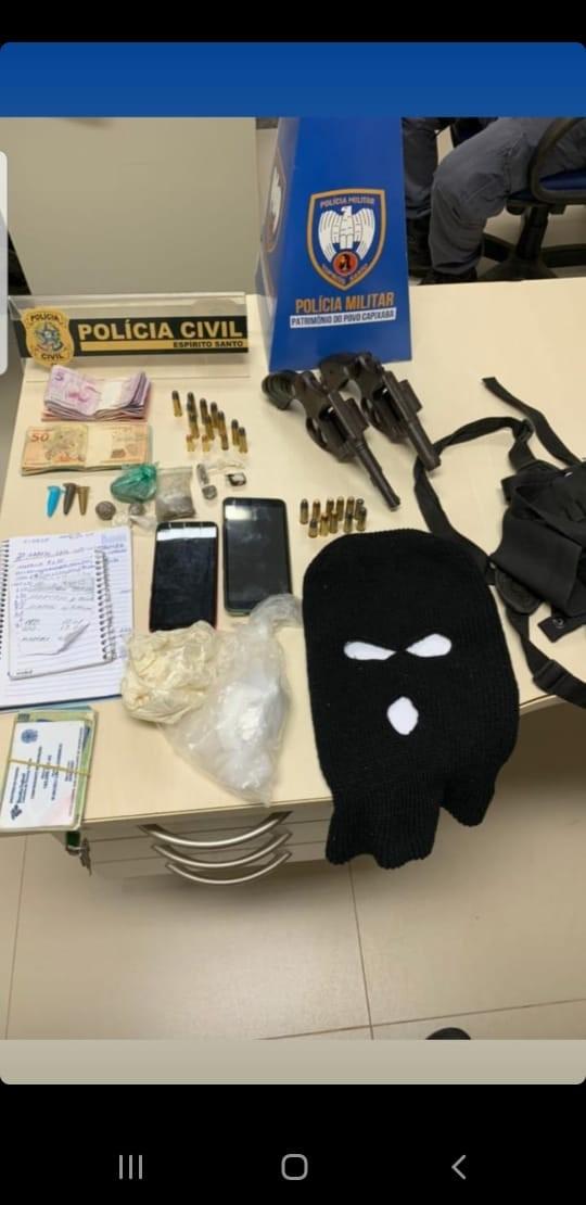 Operação conjunta prende integrantes de uma associação criminosa em São Gabriel da Palha