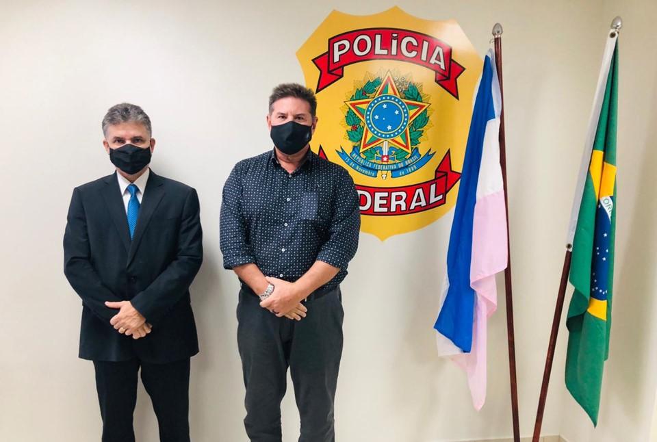 Gerência de Atenção ao Servidor da Sesp firma parceria com Polícia Federal para pesquisas na área da saúde mental