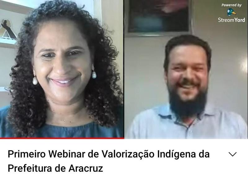Jacqueline Moraes participa de ato on-line em homenagem ao Dia da Resistência Indígena