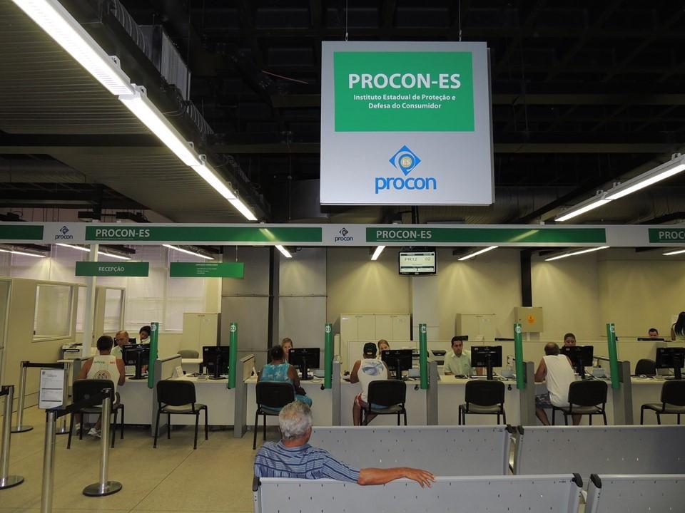 Atendimento ao público no Procon-ES retorna dia 18 de janeiro em nova sede