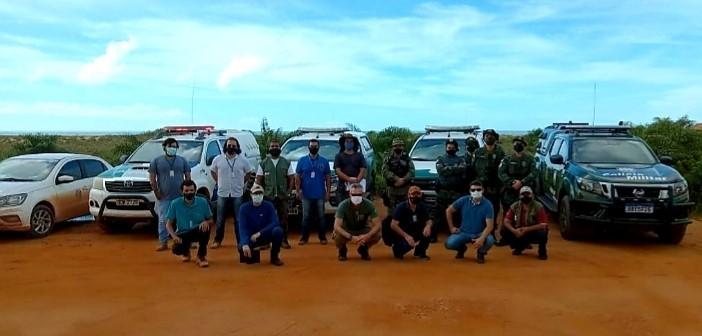 Agerh e Iema participam de Operação de Fiscalização contra ocupações irregulares em Linhares