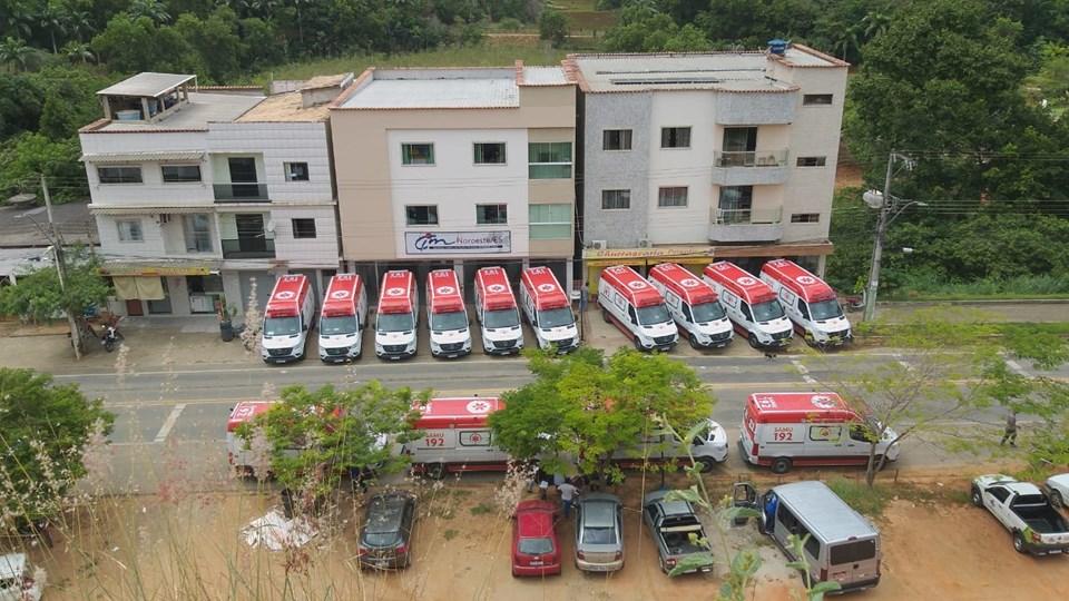 Águia Branca mais 13 municípios da região Centro-Norte de Saúde recebem ambulâncias do SAMU 192