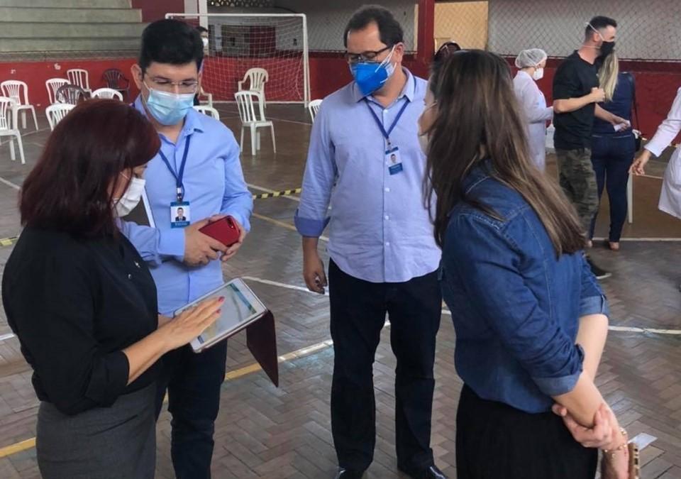 Secretaria de Controle e Transparência atua para otimizar vacinação e evitar perda de doses