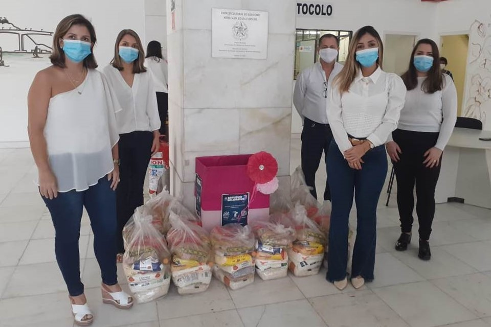 Servidores da Sejus se unem para arrecadar doações ao ES Solidário
