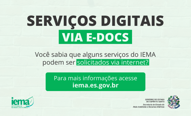 Para facilitar acesso, Iema oferece uma série de serviços digitais