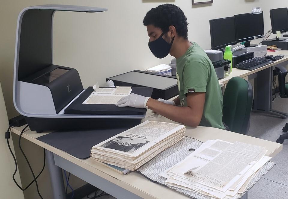 Arquivo Público digitaliza notícias de jornais da coleção Setembrino Pelissari